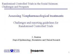Randomised Controlled Trials in the Social Sciences Challenges