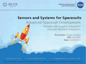National Aeronautics and Space Administration Sensors and Systems