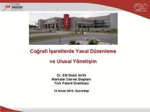 Corafi aretlerde Yasal Dzenleme ve Ulusal Ynetiim Dr