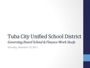 Tuba City Unified School District Governing Board School