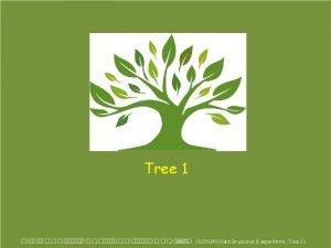 Tree 1 KMITL 01076249 Data Structures Algorithms Tree