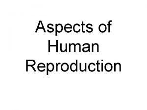 Aspects of Human Reproduction Histology of ovary Histology
