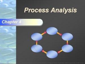 Process Analysis Chapter 4 To Accompany Krajewski Ritzman