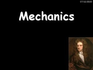 07122020 Mechanics 07122020 Distance Speed and Time revision