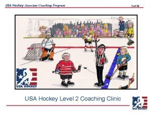 USA Hockey Associate Coaching Program USA Hockey Level