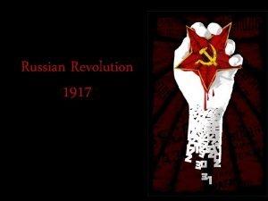 Russian Revolution 1917 Events Causing Discontent Nicholas II