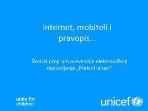 Internet mobiteli i pravopis kolski program prevencije elektronikog