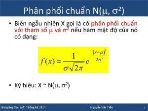 Phn phi chun N 2 Bin ngu nhin