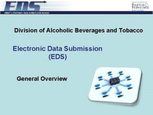 Division of Alcoholic Beverages and Tobacco Electronic Data