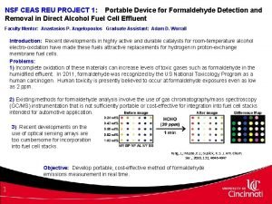 NSF CEAS REU PROJECT 1 Portable Device for