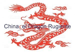 China el Dragn Rugiente Antecedentes Imperio Chino Apertura