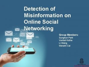 Detection of Misinformation on Online Social Networking Group