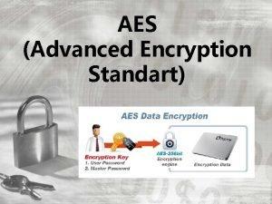 AES Advanced Encryption Standart AES AES John Daemen