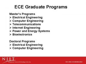 ECE Graduate Programs Masters Programs Electrical Engineering Computer