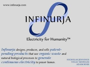 www infinurja com Infinurja designs produces and sells