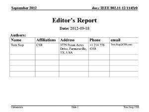 September 2012 doc IEEE 802 11 121145 r