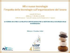 HR e nuove tecnologie limpatto delle tecnologie sullorganizzazione