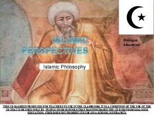 ISLAMIC PERSPECTIVES Dialogue Education Islamic Philosophy THIS CD
