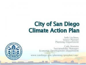 City of San Diego Climate Action Plan Seth