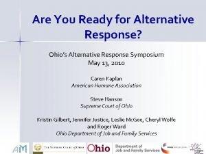 Are You Ready for Alternative Response Ohios Alternative