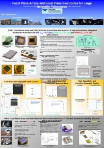 Focal Plane Arrays and Focal Plane Electronics for