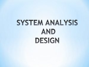 SOFTWARE SPECIFICATIONS AND REQUIREMENT ANALYSIS Software Specification A