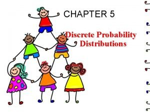 CHAPTER 5 Discrete Probability Distributions Chapter 5 Overview