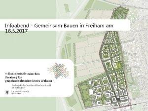 Infoabend Gemeinsam Bauen in Freiham am 16 5