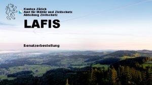 Kanton Zrich Amt fr Militr und Zivilschutz Abteilung