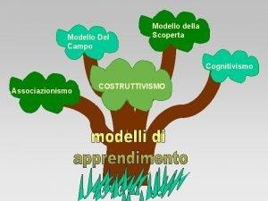Modello Del Campo Modello della Scoperta Cognitivismo Associazionismo