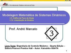 Modelagem Matemtica de Sistemas Dinmicos 3 9 Grfico