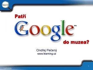 Ondej Peen www learning cz 1 1272020 Znaka