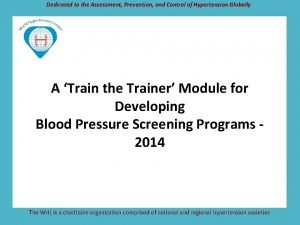 Dedicated to the Assessment Prevention and Control of