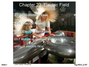 Chapter 23 Electric Field 23 3 Coulombs Law