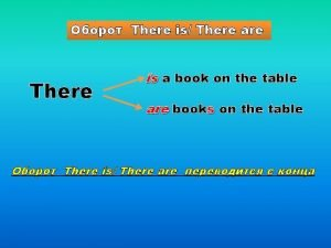 There is There are There is a book