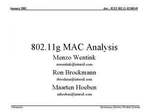 January 2001 doc IEEE 802 11 02065 r
