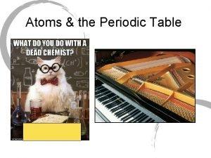 Atoms the Periodic Table Abundance of Elements Abundance