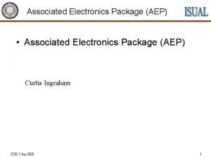 Associated Electronics Package AEP Associated Electronics Package AEP
