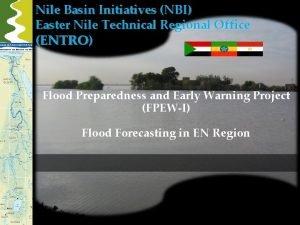 Nile Basin Initiatives NBI Easter Nile Technical Regional