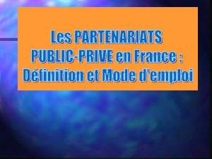A Etat des lieux de la commande publique