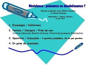 Runion prpare avec Michel Escudier et Michel Rumeau