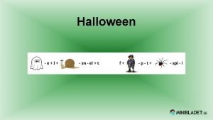 Halloween Vad r Halloween Halloween r en amerikansk