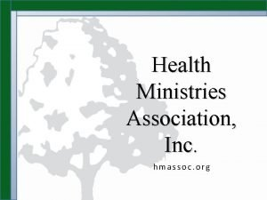 Health Ministries Association Inc hmassoc org Health Ministries