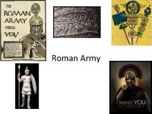 Roman Army Citizen Army Freeborn citizen 17 46