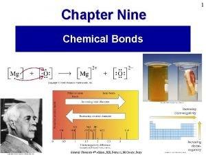 1 Chapter Nine Chemical Bonds Prentice Hall 2005