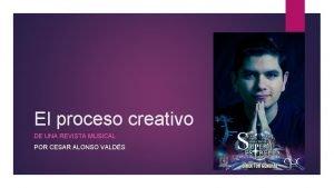 El proceso creativo DE UNA REVISTA MUSICAL POR