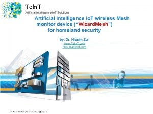 Teln T Artificial Intelligence Io T Solutions Artificial