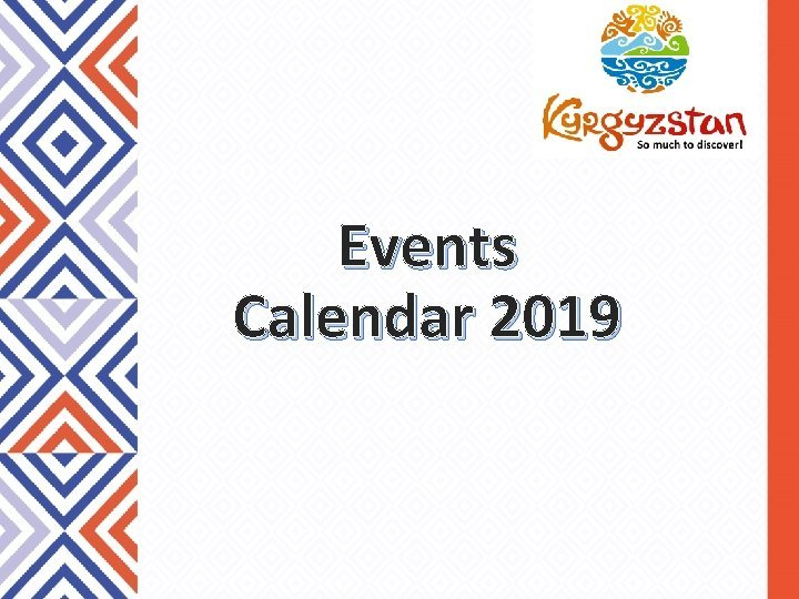 Events Calendar 2019 Events Calendar 2019 Spring Summer