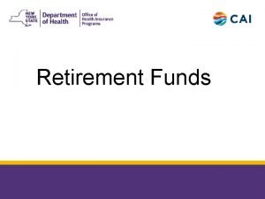 Retirement Funds 6252018 2 Retirement Funds q Retirement
