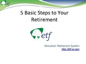 5 Basic Steps to Your Retirement Wisconsin Retirement